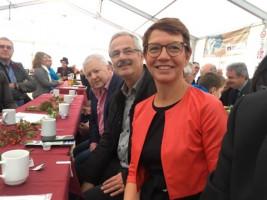 Tag der offenen Tür im Müllkraftwerk Schwandorf: Eröffnung mit unserer Oberbürgermeisterkandidatin Karin Frankerl und dem Oberbürgermeister in Nittenau Karl Bley