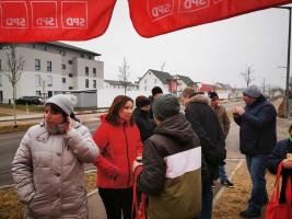 Infostand Egelsee, Lindenviertel, Rotlindenviertel und Hochrain
