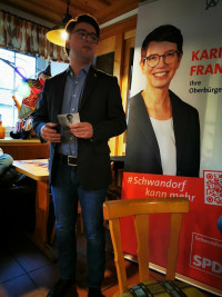 SPD vor Ort in Haselbach