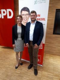 Nominierungsversammlung der Oberbürgermeisterkandidatin Karin Frankerl