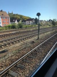 Sonderzug zum Müllkraftwerk Schwandorf