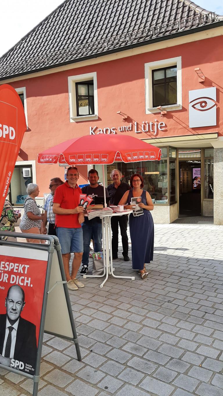 2021-09-10 Infostand OV Schwandorf 1