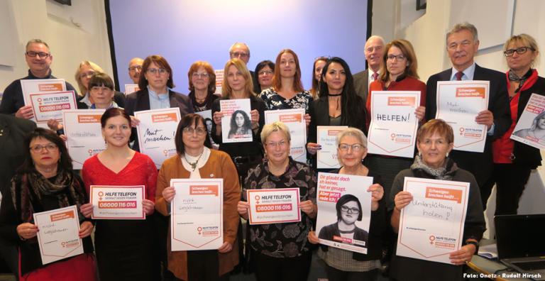 NEIN zu Gewalt an Frauen