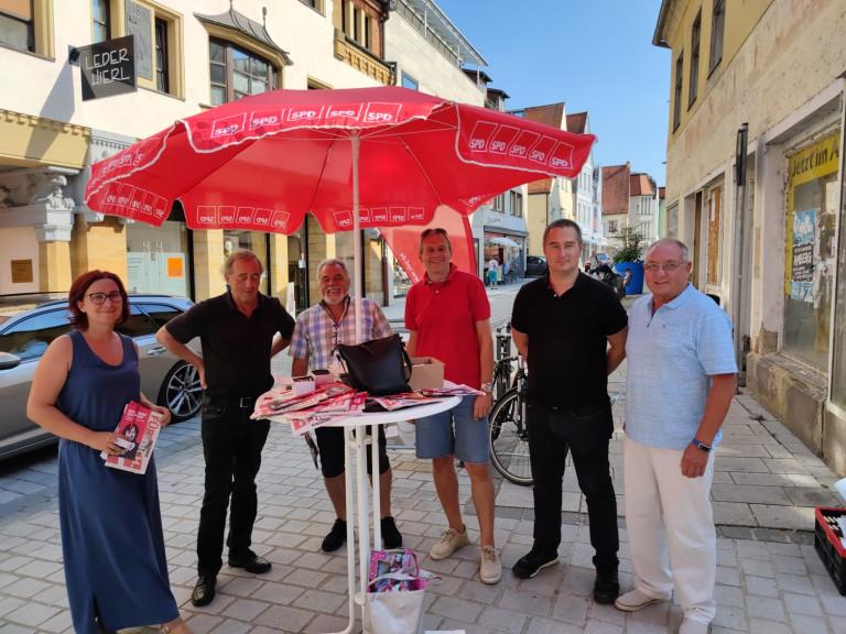 2021-09-10 Infostand OV Schwandorf 2