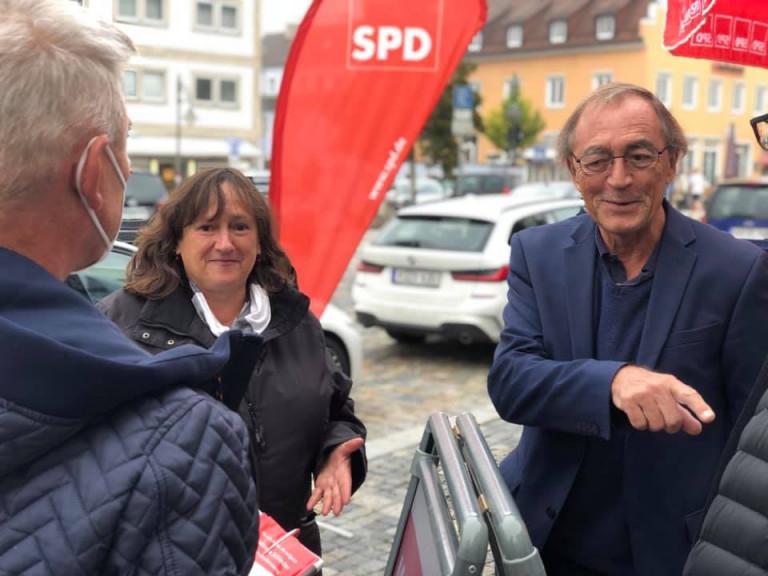 2021-09-25 Infostand OV Dachelhofen 2